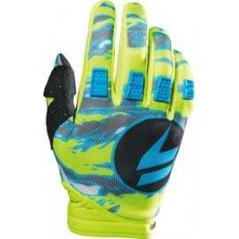Gants Shift Strike jaune fluo camo