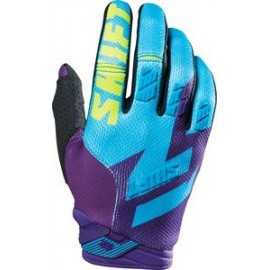 Gants Shift Faction mauve jaune fluo