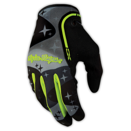 Gants Troy lee designs XC Cosmic camo gris