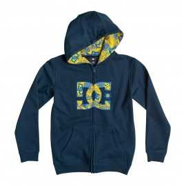 Sweat dc shoes enfant hookup zippé noir