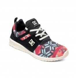 Chaussures DC SHOES Heathrow SE basses noir graphic