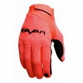 Gants cross seven rival orange fluo