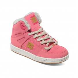 Chaussures DC SHOES Enfant Rebound wnt montantes rose