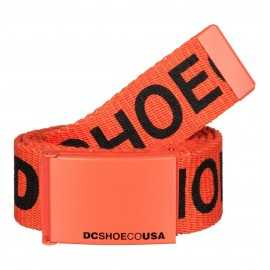 Dc shoes ceinture chinook 6 spicy orange