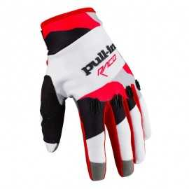 Gants cross Pull-in fighter camo noir blanc rouge