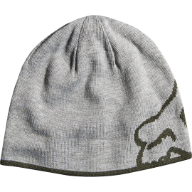 Bonnet Fox streamliner reversible gris kaki