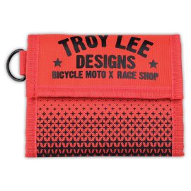 Portefeuille Troy lee designs Starburst orange noir