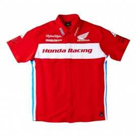 Chemise Troy lee designs Team Honda rouge