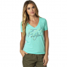 Tee-shirt Fox femme configuration vneck sea foam