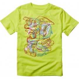 Tee-shirt fox kids moon blaze jaune fluo