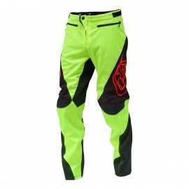 pantalon troy lee designs sprint jaune fluo