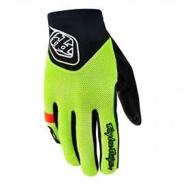 Gants Troy lee designs Ace jaune fluo
