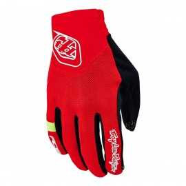 Gants Troy lee designs Ace rouge