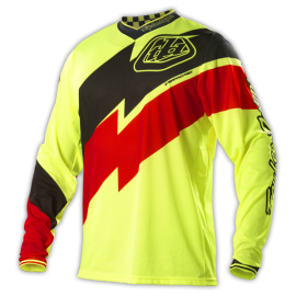 Maillot troy lee designs gp air astro jaune fluo