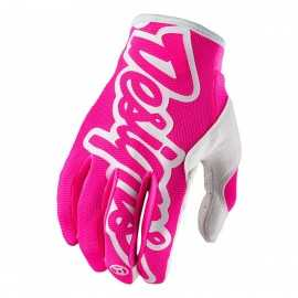 Gants Troy lee designs Se Pro rose fluo
