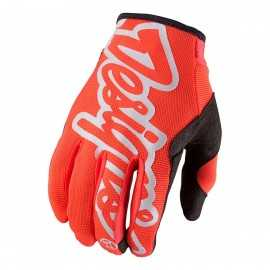 Gants troy lee designs se pro orange fluo