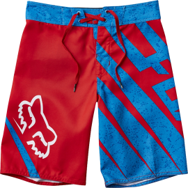 boardshort fox enfant spiked rouge