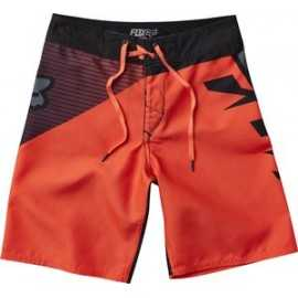 boardshort fox enfant diamond orange fluo