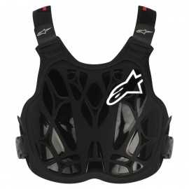 Alpinestars pare pierre enfant A8 light noir blanc rouge