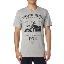 Tee-shirt Fox boxed out gris
