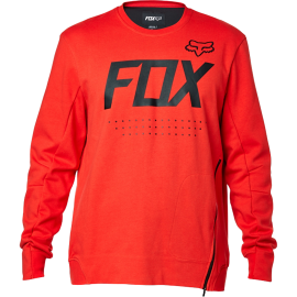 Pull Fox Brawled technique crew flame red