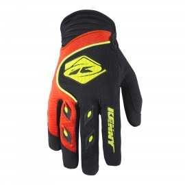 Gants cross kenny track noir orange