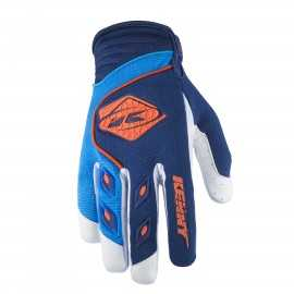 Gants cross kenny track navy cyan orange