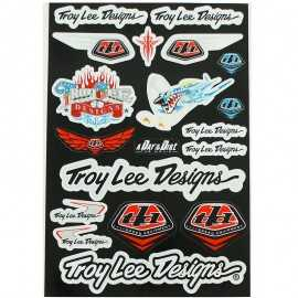 Planche stickers logo troy lee designs