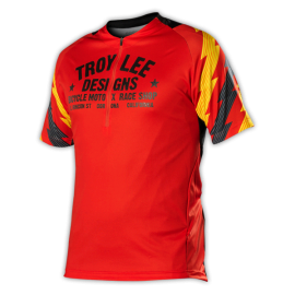 Maillot Troy lee designs Ace rouge