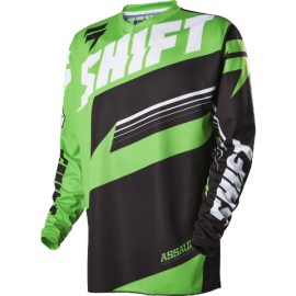 Maillot cross shift assault vert