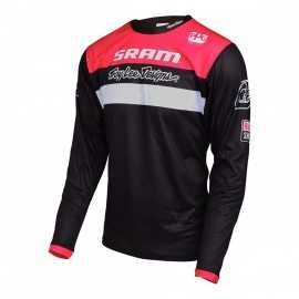 Maillot Troy lee designs Sprint enfant Sram racing noir