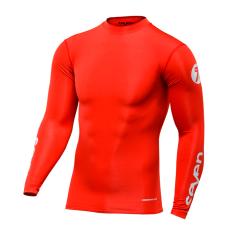 Maillot Seven Zero compression rouge