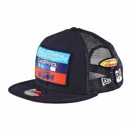 Casquette Troy lee designs Team KTM enfant snapback bleu