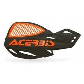 Protèges mains Acerbis mx uniko vented noir orange