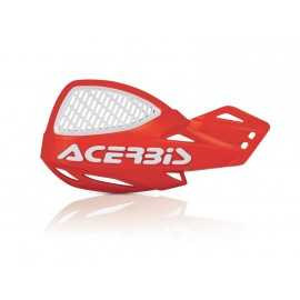 Protèges mains Acerbis mx uniko vented rouge blanc