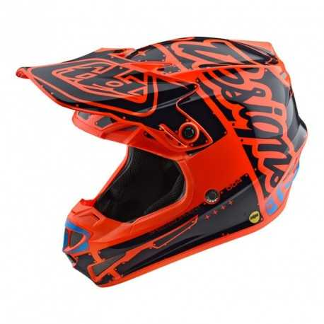 Casque Cross Enfant Se4 2018 Casque Cross Se4 Tld Enfant Orange