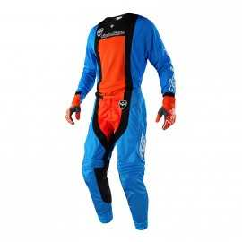 Tenue Troy lee designs se air squadra cyan orange