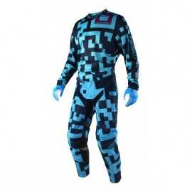 Tenue troy lee designs gp air maze turquoise navy