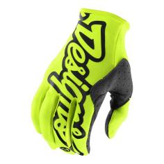 Gants Troy lee designs Se jaune fluo