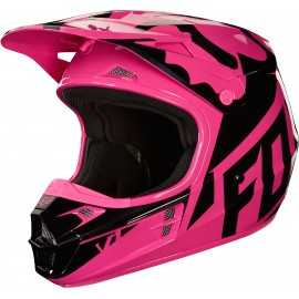 Casque Fox Cross V1 Race rose