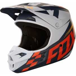 Casque fox cross V1 Sayak orange
