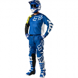 Tenue Fox 180 race bleu