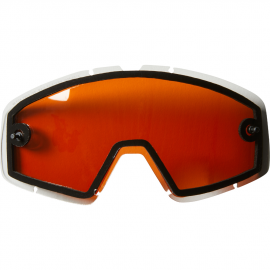 Ecran double Fox Main ventilé anti-buée orange