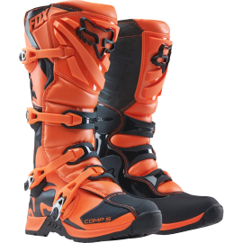 Bottes cross Fox Enfant Comp 5 orange