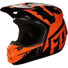 Casque Cross Fox V1 race orange