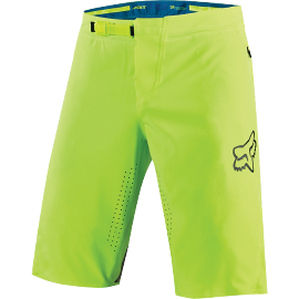 Short fox attack jaune fluo