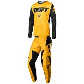 Tenue Shift enfant Whit3 Ninety Seven jaune