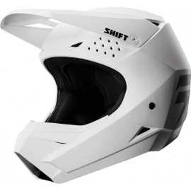 Casque cross shift whit3 blanc 2018