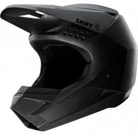 Casque cross Shift Whit3 noir mat 2019