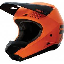Casque cross shift whit3 orange 2018